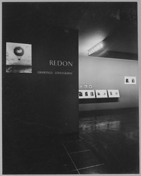 Odilon Redon: Drawings and Lithographs. Feb 13–Apr 20, 1952.