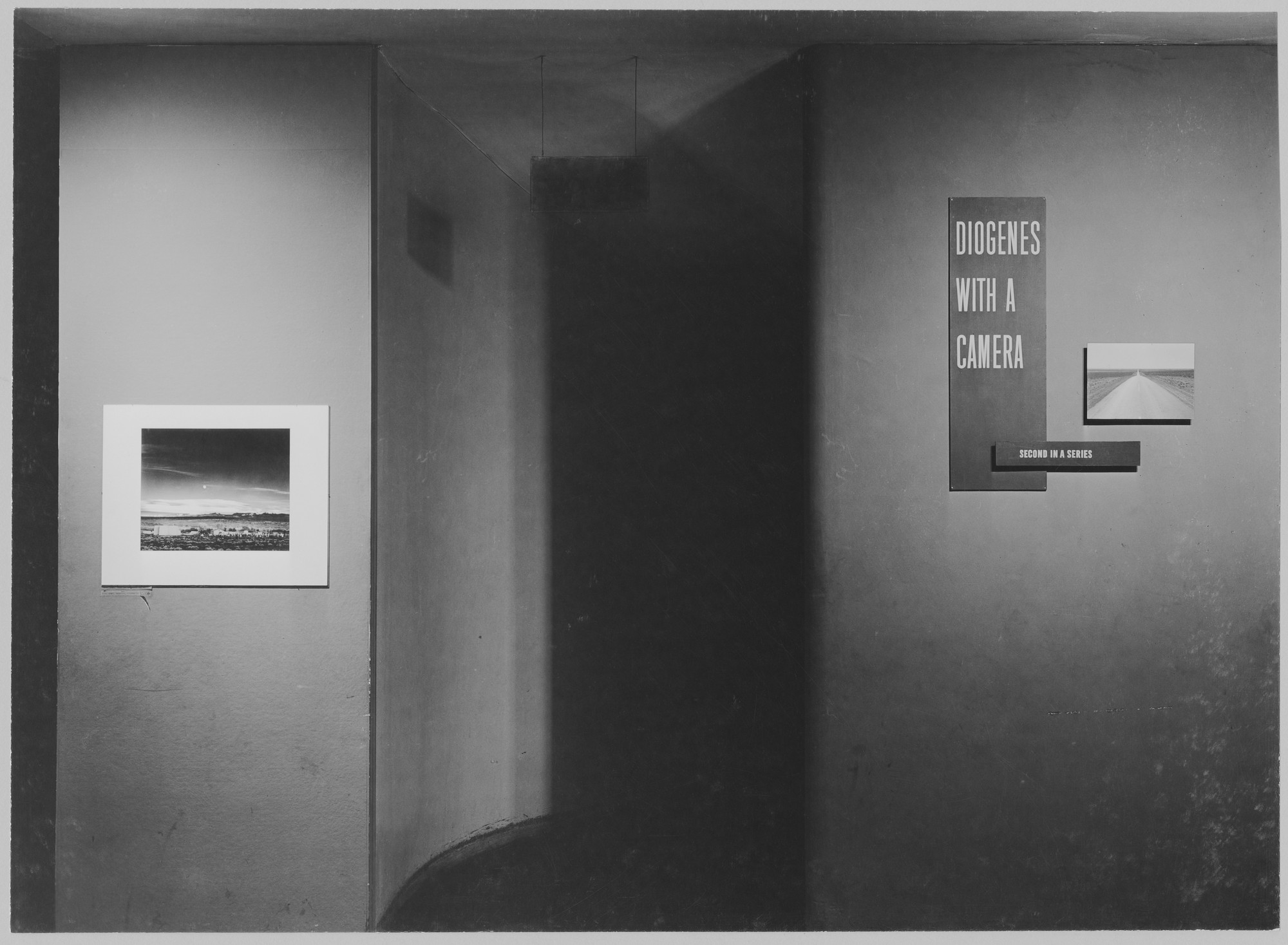 "Installation view of the exhibition, ""Diogenes with a Camera II."" November 25, 1952–March 8, 1953. Photographic Archive. The Museum of Modern Art Archives, New York. IN525.1. Photograph by Soichi Sunami."