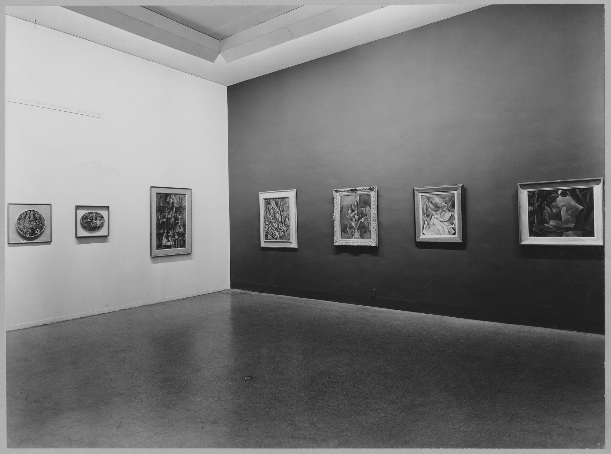 "Installation view of the exhibition, ""Works form the Museum Collection."" August 12, 1952–September 21, 1952. Photographic Archive. The Museum of Modern Art Archives, New York. IN517.1. Photograph by Soichi Sunami."
