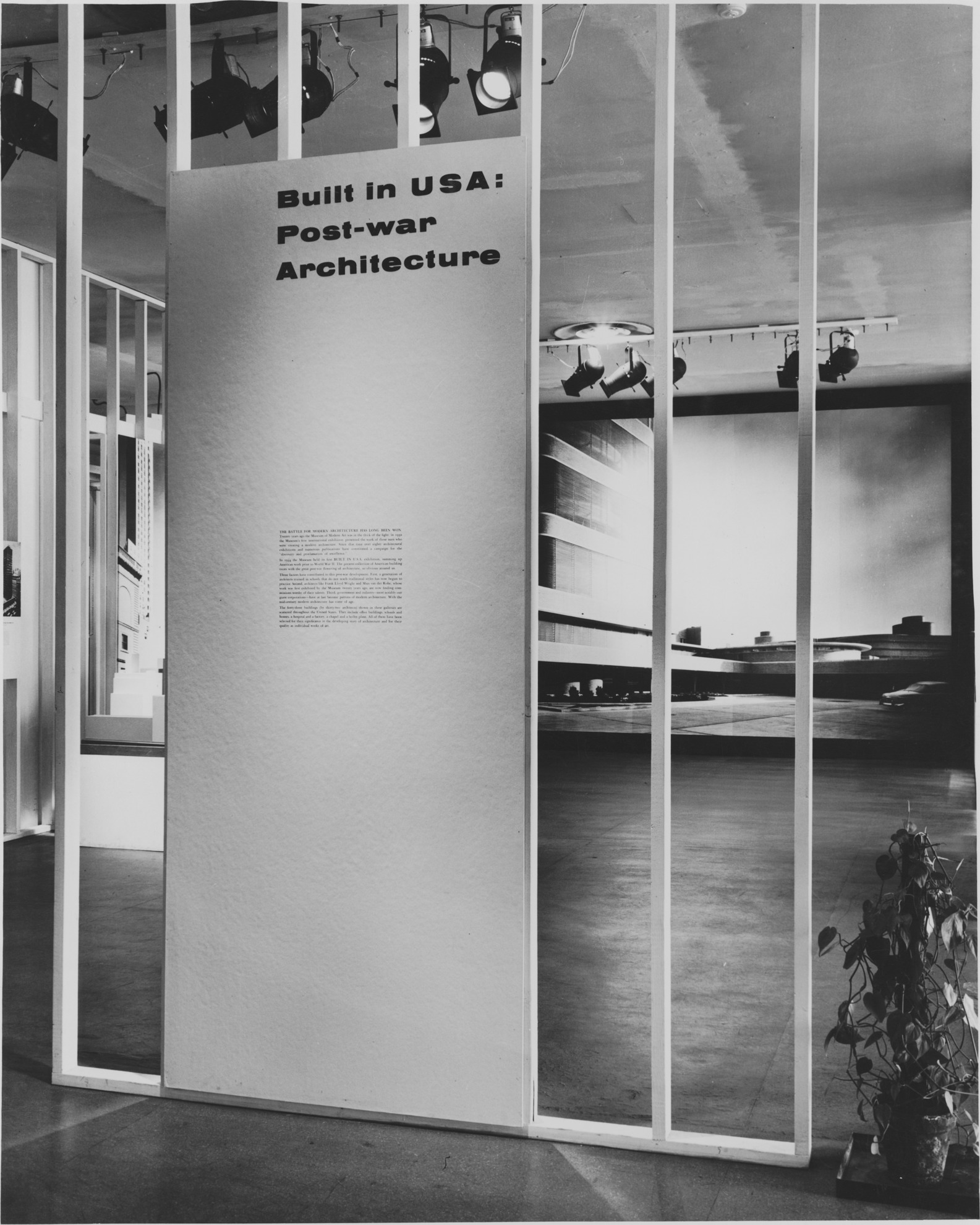 Built In USA PostWar Architecture MoMA - Black museums in usa