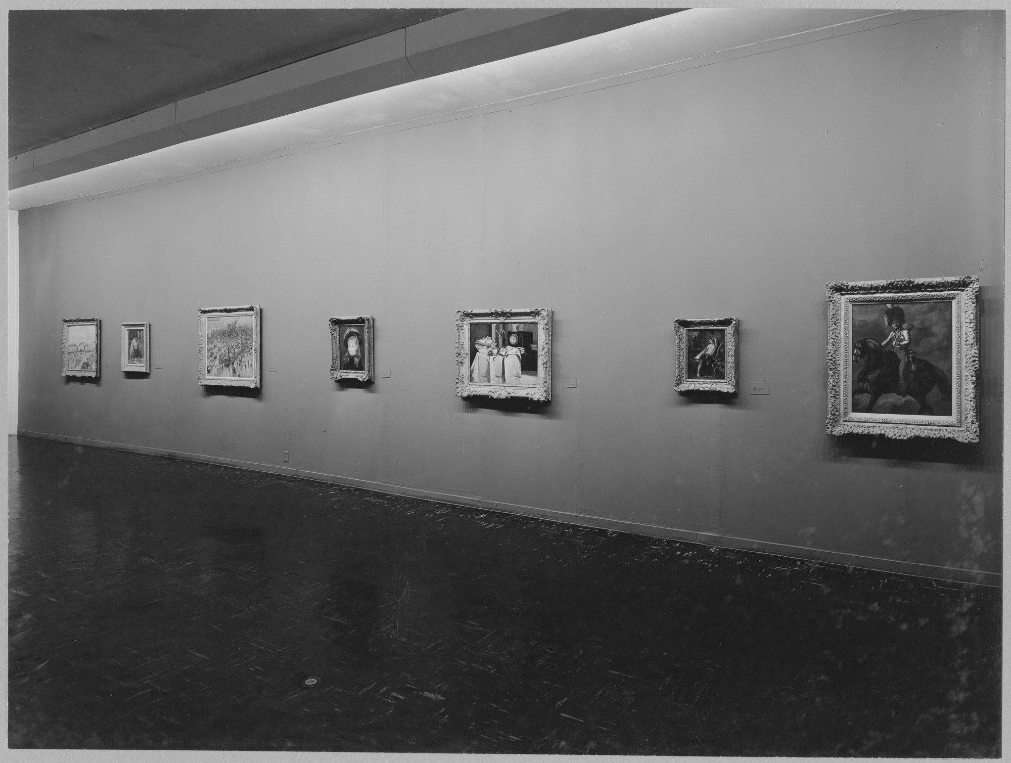 "Installation view of the exhibition, ""Edward G. Robinson Collection."" March 3, 1953–April 12, 1953. Photographic Archive. The Museum of Modern Art Archives, New York. IN533.1. Photograph by Soichi Sunami."