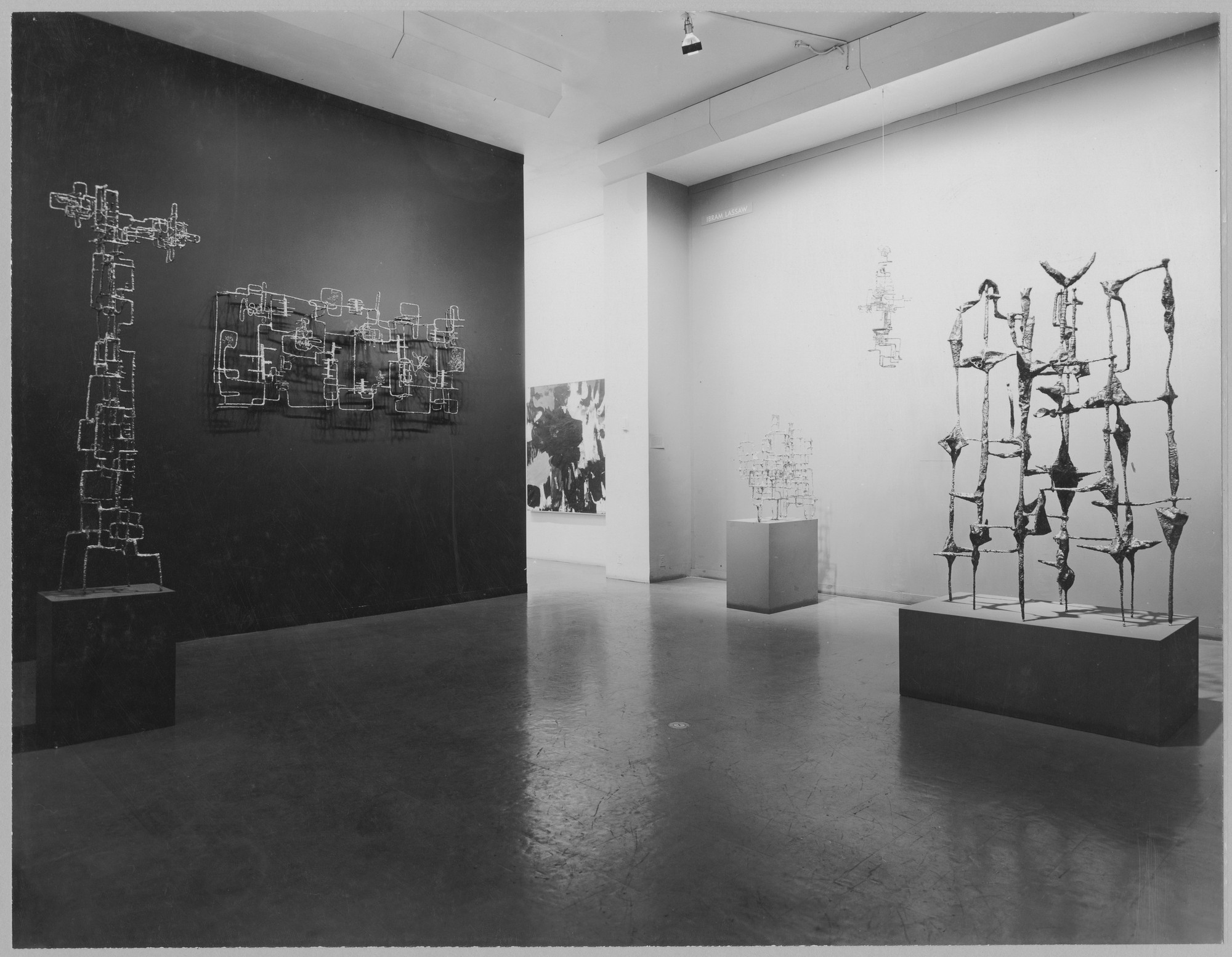 "Installation view of the exhibition, ""Twelve Americans."" May 30, 1956–September 8, 1956. Photographic Archive. The Museum of Modern Art Archives, New York. IN604.1. Photograph by Soichi Sunami."