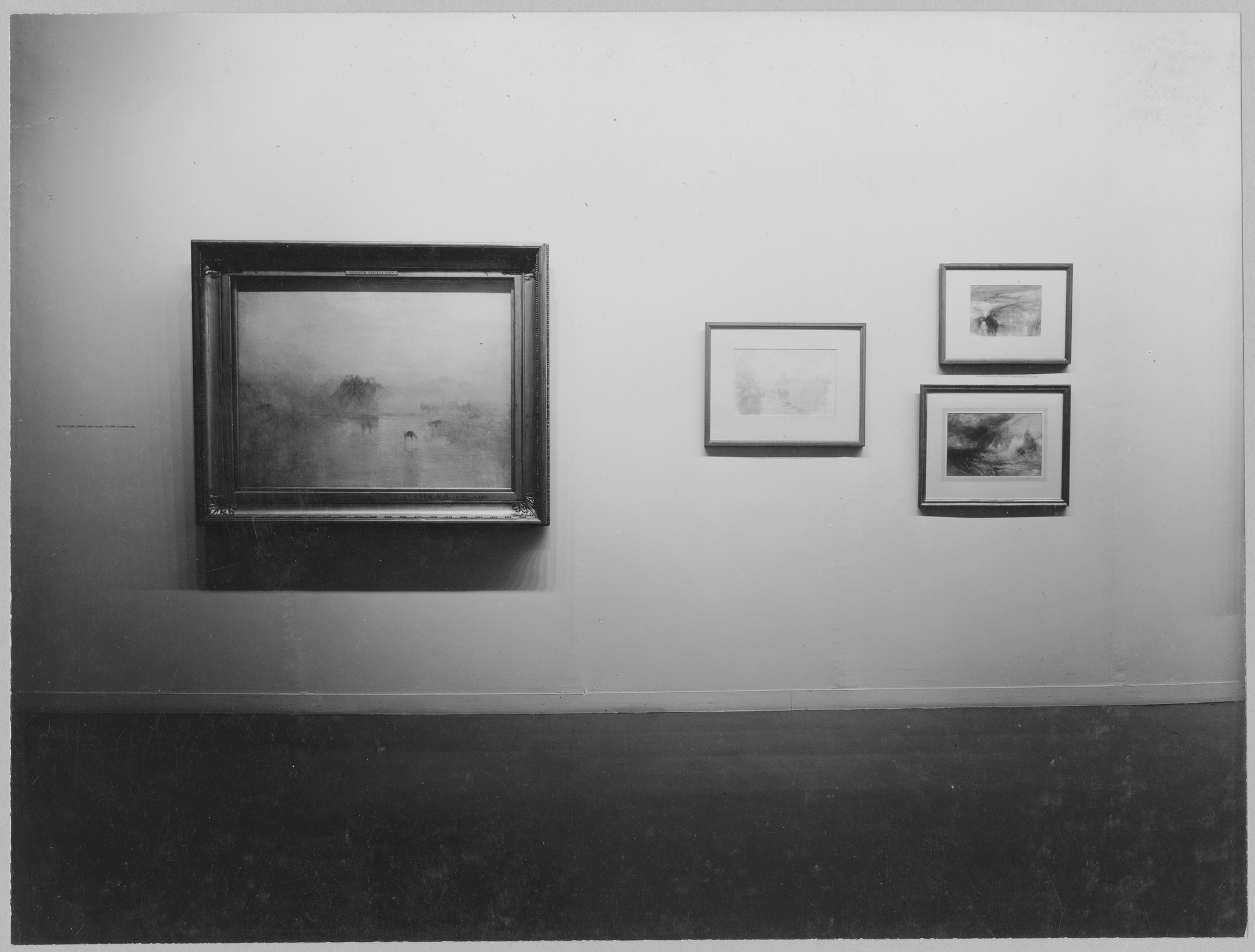 "Installation view of the exhibition, ""Masters of British Painting 1800-1950."" October 3, 1956–December 2, 1956. Photographic Archive. The Museum of Modern Art Archives, New York. IN607.1. Photograph by Soichi Sunami."