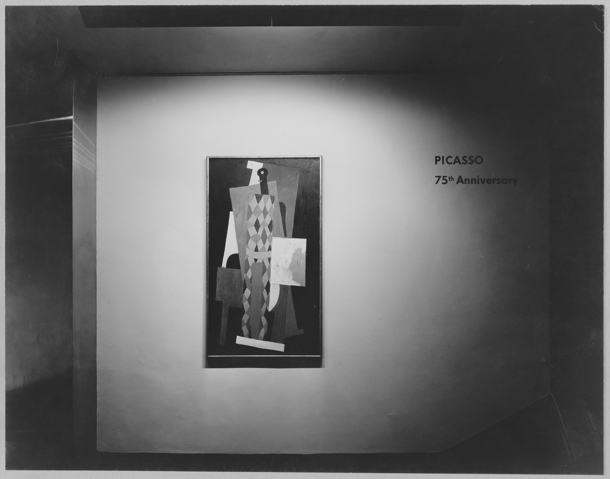 "Installation view of the exhibition, ""Picasso: 75th Anniversary."" May 4, 1957–August 25, 1957 (first floor and auditorium); May 22, 1957–September 8, 1957 (third floor). Photographic Archive. The Museum of Modern Art Archives, New York. IN619.1. Photograph by Soichi Sunami."