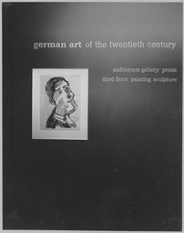 German Art of the 20th Century. Oct 2–Dec 1, 1957.