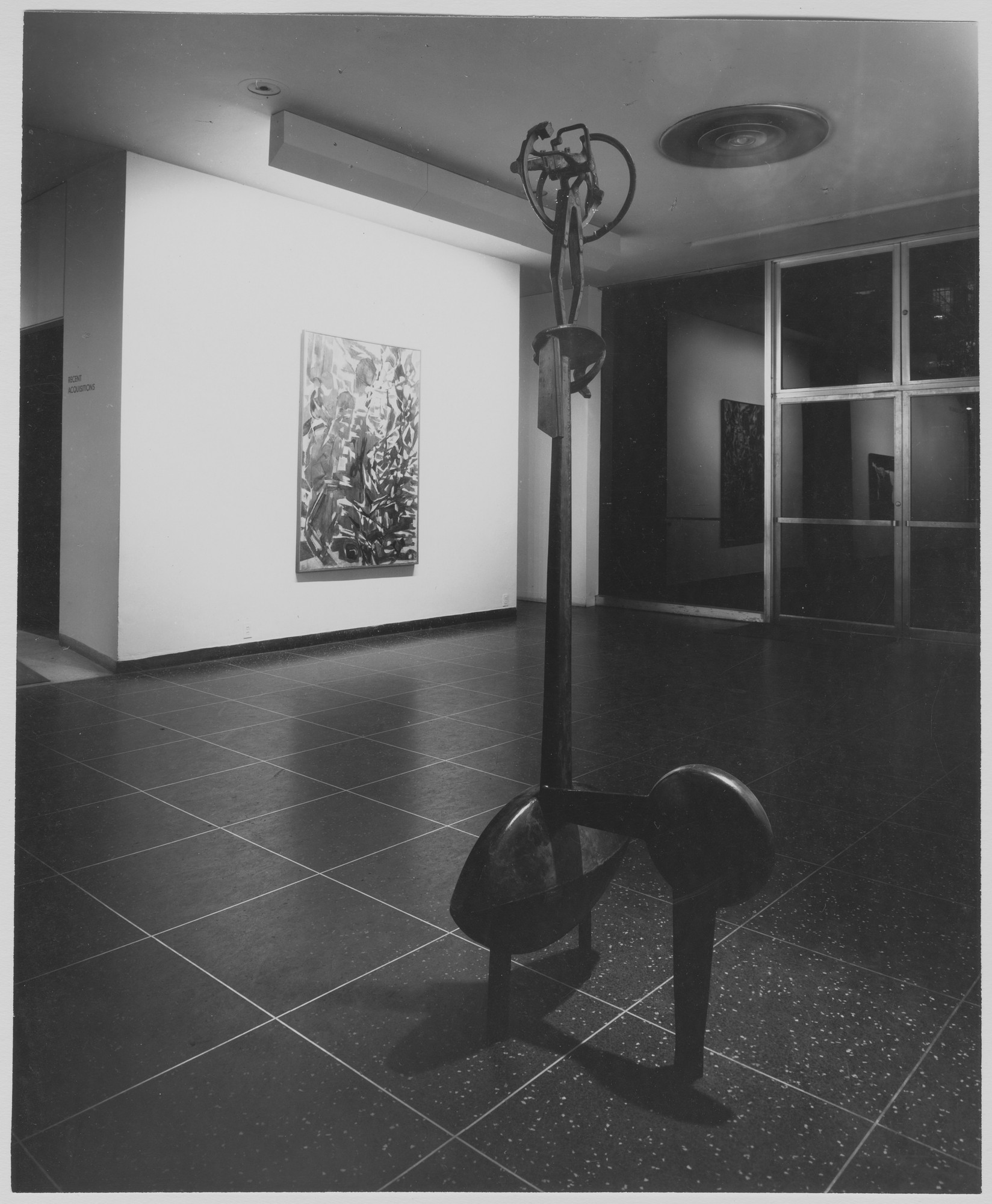 "Installation view of the exhibition, ""Recent Acquisitions."" November 13, 1957–January 5, 1958. Photographic Archive. The Museum of Modern Art Archives, New York. IN623.1. Photograph by Soichi Sunami."