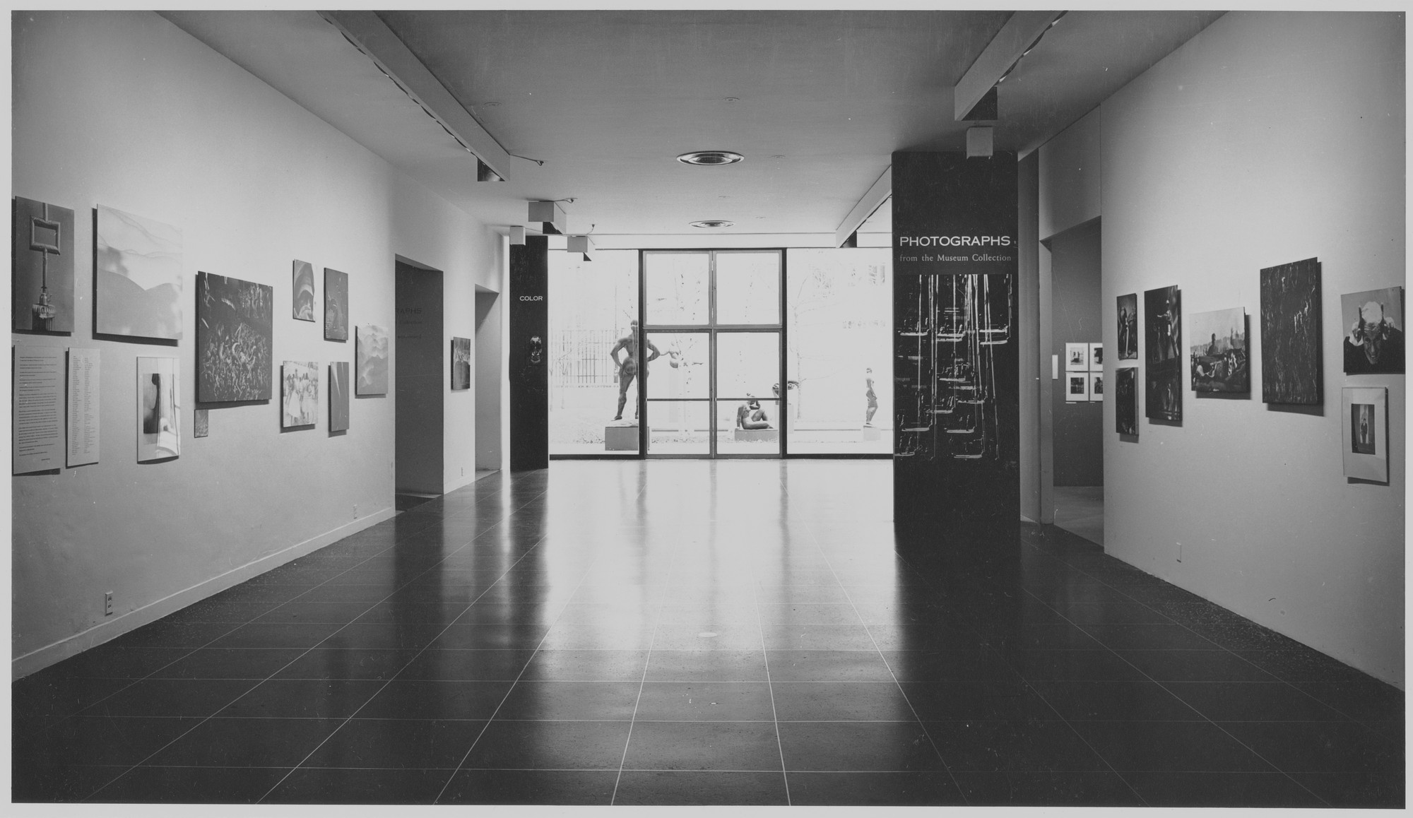"Installation view of the exhibition, ""Photographs from the Museum Collection."" November 26, 1958–January 18, 1959. Photographic Archive. The Museum of Modern Art Archives, New York. IN636.1. Photograph by R. P. Peterson."