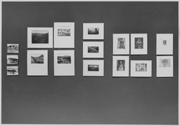 Photographs from the Museum Collection. Nov 26, 1958–Jan 18, 1959. 4 other works identified