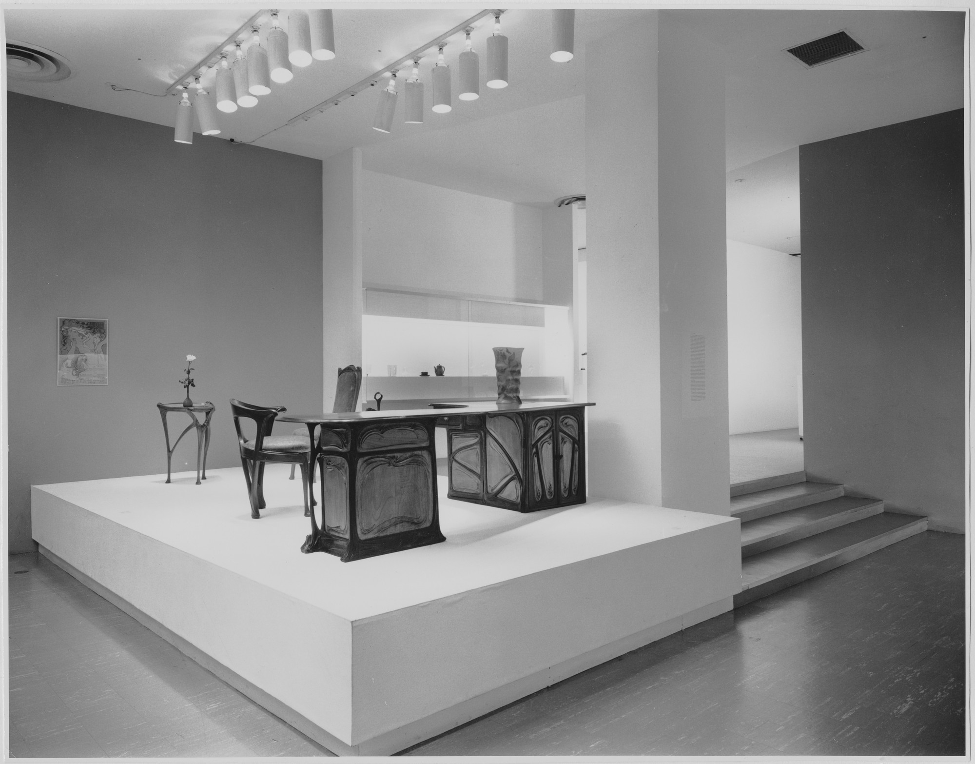 "Installation view of the exhibition, ""20th Century Design from the Museum Collection."" December 17, 1958–February 23, 1959. Photographic Archive. The Museum of Modern Art Archives, New York. IN637.1. Photograph by Ben Schnall."