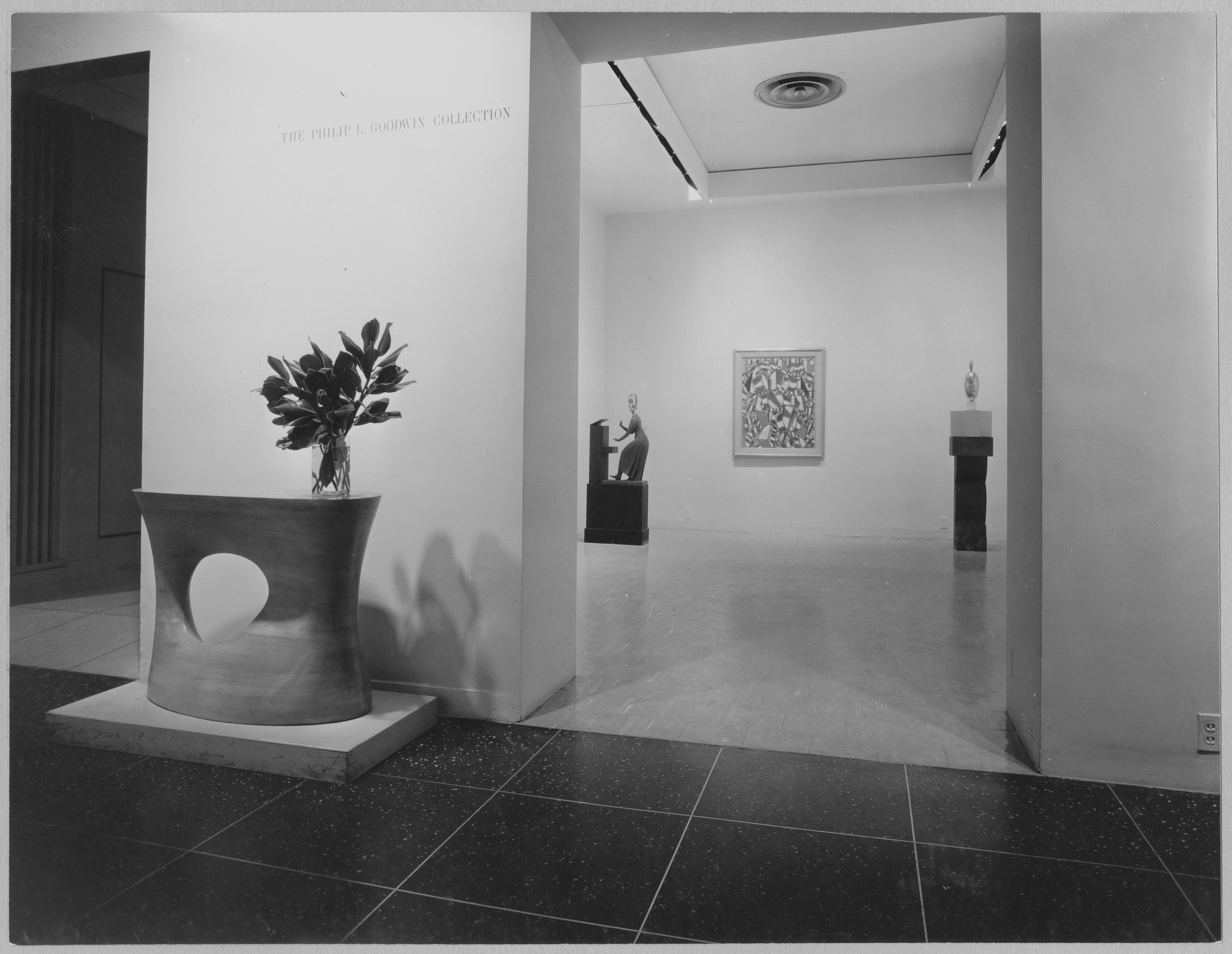 "Installation view of the exhibition, ""Works of Art:  Given or Promised."" October 8, 1958–November 9, 1958. Photographic Archive. The Museum of Modern Art Archives, New York. IN633.1. Photograph by Soichi Sunami."