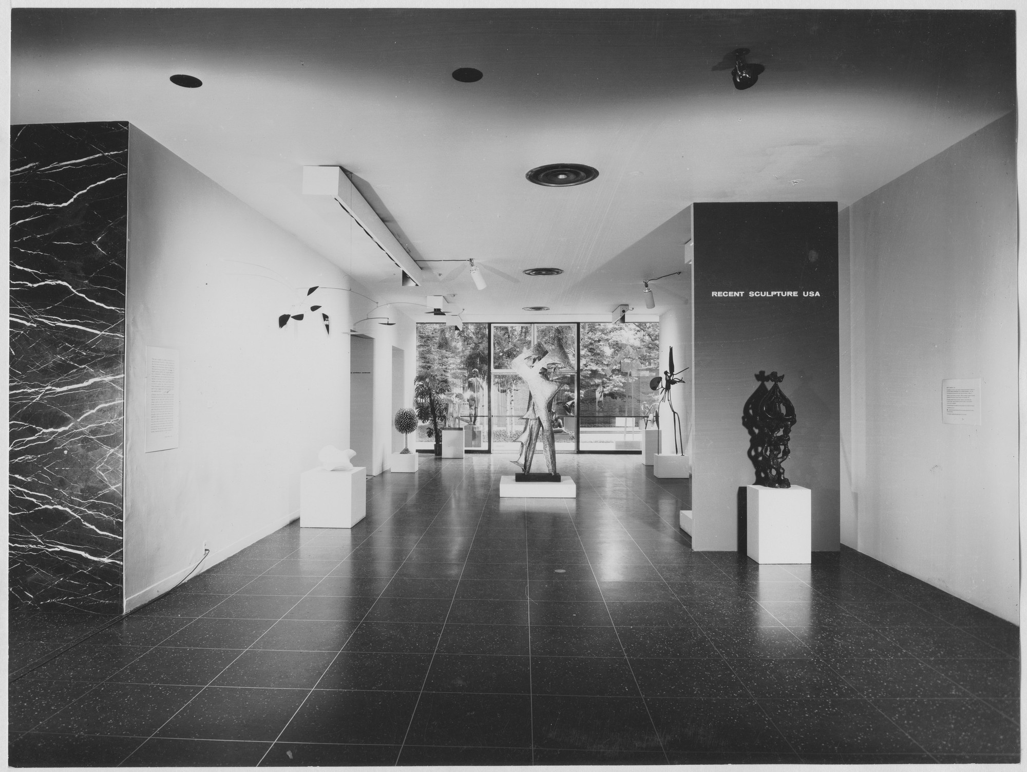 "Installation view of the exhibition, ""Recent Sculpture U.S.A."" May 13, 1959–August 16, 1959. Photographic Archive. The Museum of Modern Art Archives, New York. IN644.1. Photograph by Soichi Sunami."