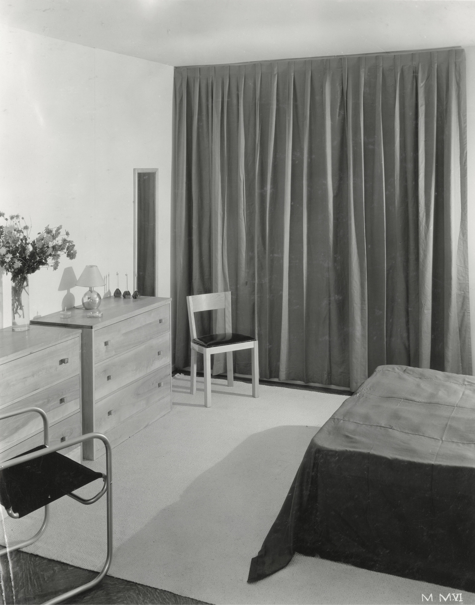 Bed room low cost modern apartment furniture by macy installation view of the exhibition housing exhibition of the city of new york