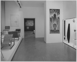 "30th Anniversary Special Installation - Towards the ""New"" Museum. Nov 18–29, 1959."