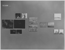 Harry Callahan and Robert Frank. Jan 30–Apr 1, 1962. 4 other works identified