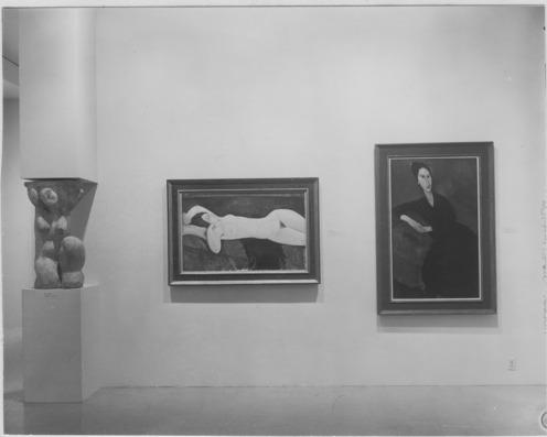 Amedeo Modigliani - La Jolie Ménagère