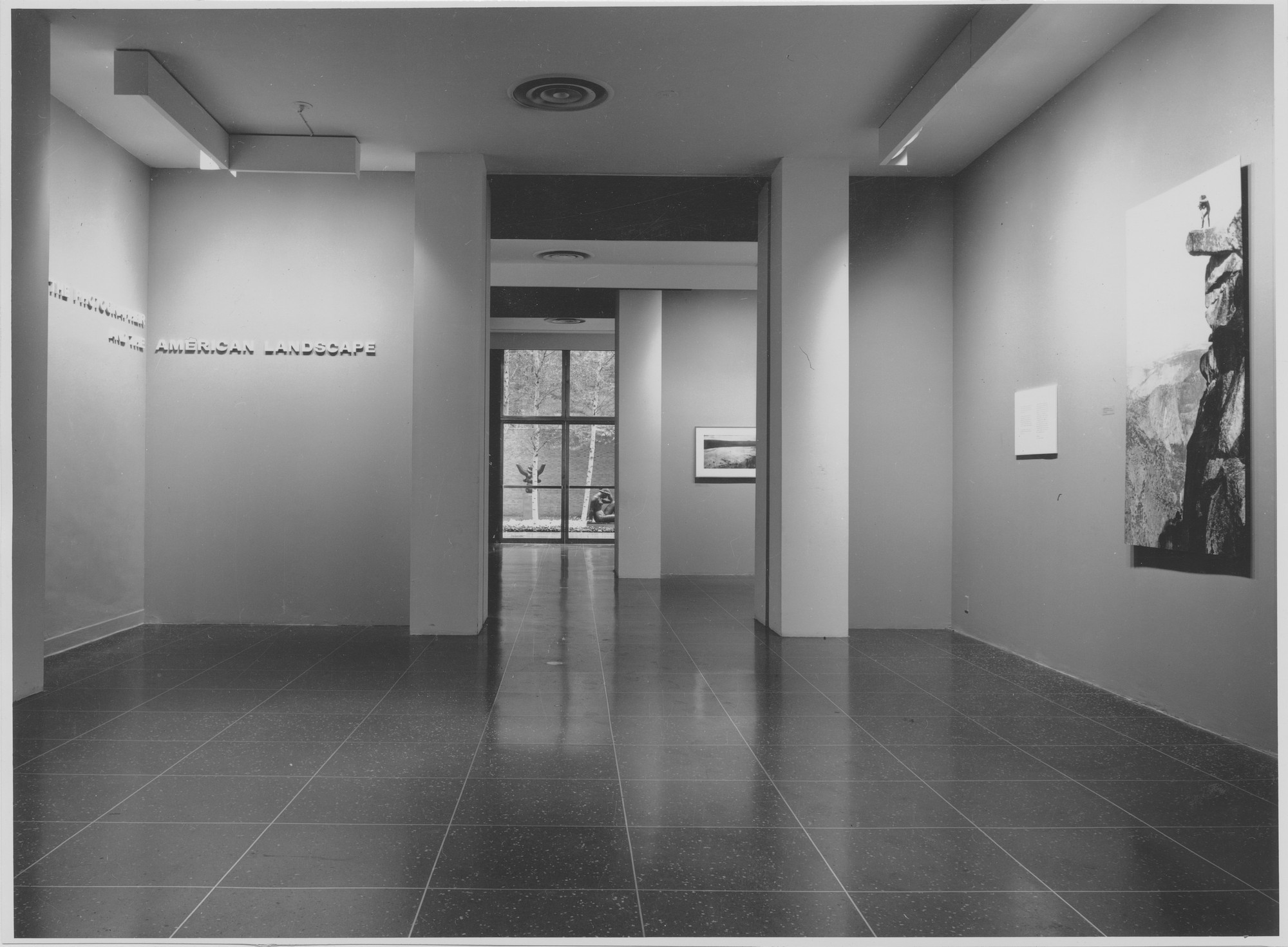 "Installation view of the exhibition, ""The Photographer and the American Landscape."" September 24, 1963–December 1, 1963. Photographic Archive. The Museum of Modern Art Archives, New York. IN728.1"