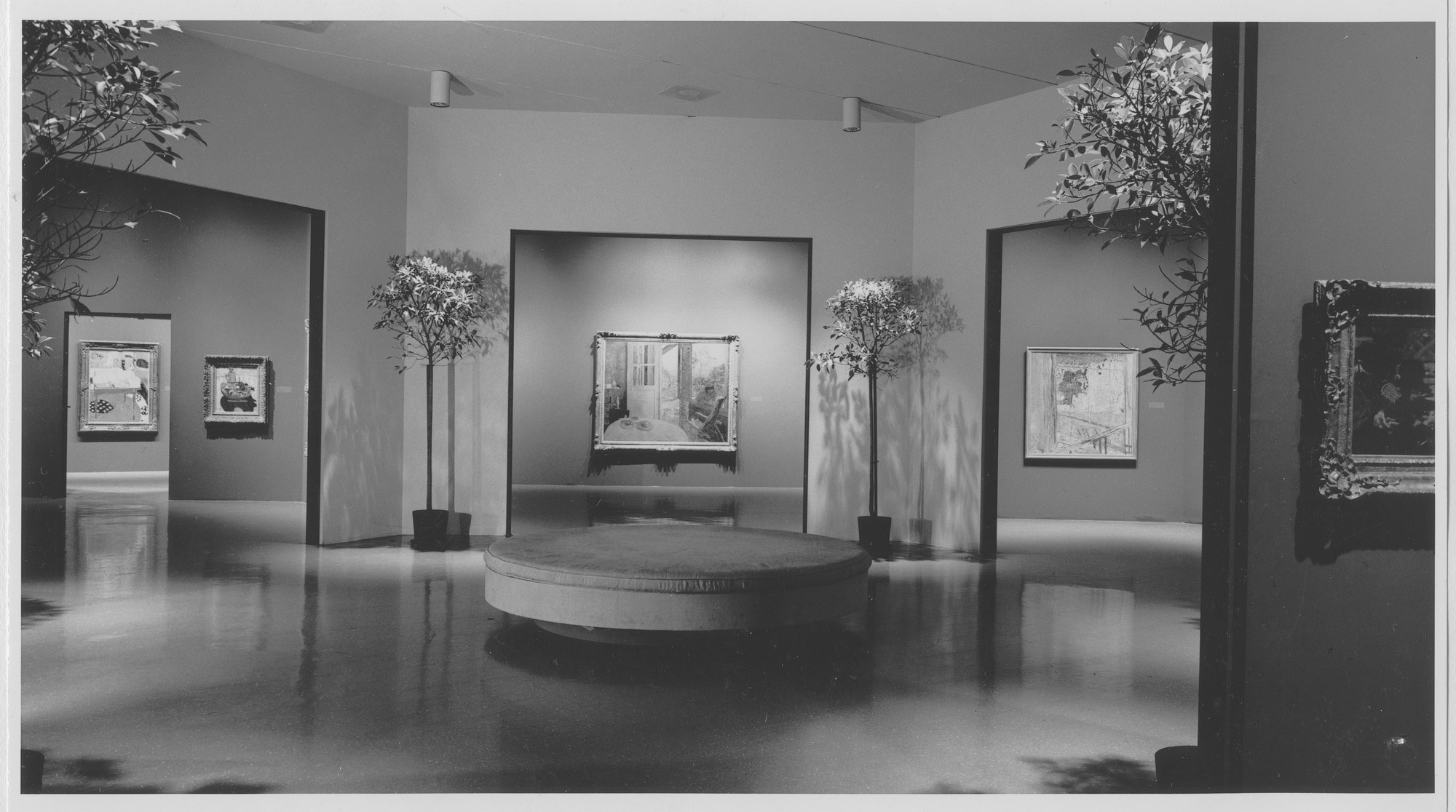"Installation view of the exhibition, ""Bonnard and His Environment."" October 7, 1964–November 29, 1964. Photographic Archive. The Museum of Modern Art Archives, New York. IN749.1. Photograph by Rolf Petersen."