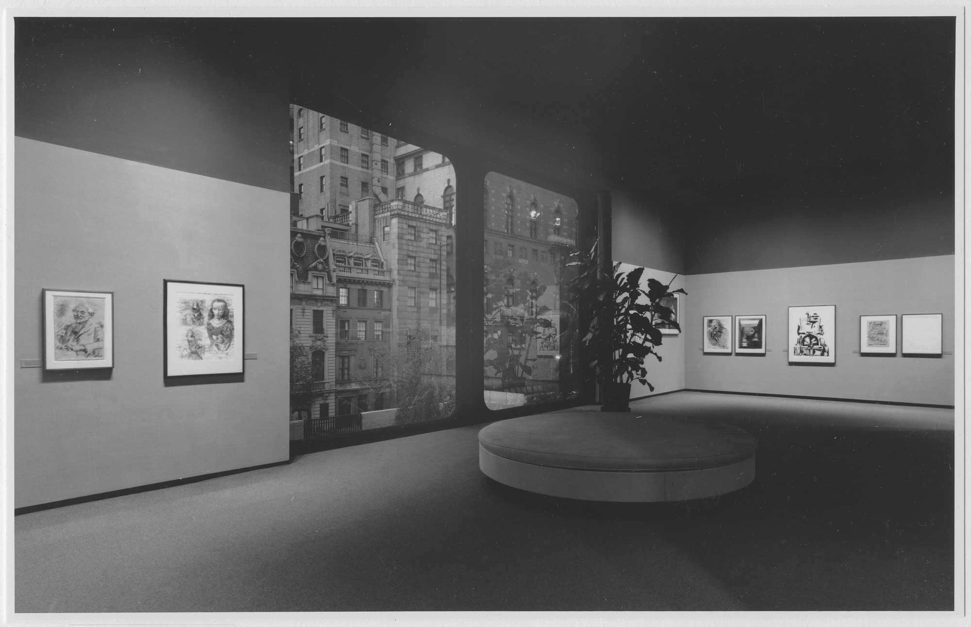 "Installation view of the exhibition, ""44 Drawings:  Recent Acquisitions."" September 6, 1965–January 23, 1966. Photographic Archive. The Museum of Modern Art Archives, New York. IN773.1. Photograph by George Cserna."