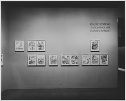 Rauschenberg: 34 Drawings for Dante's Inferno. Dec 21, 1965–Mar 22, 1966. 11 other works identified