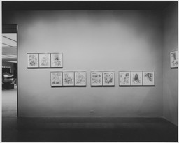 Rauschenberg: 34 Drawings for Dante's Inferno. Dec 21, 1965–Mar 22, 1966. 3 other works identified