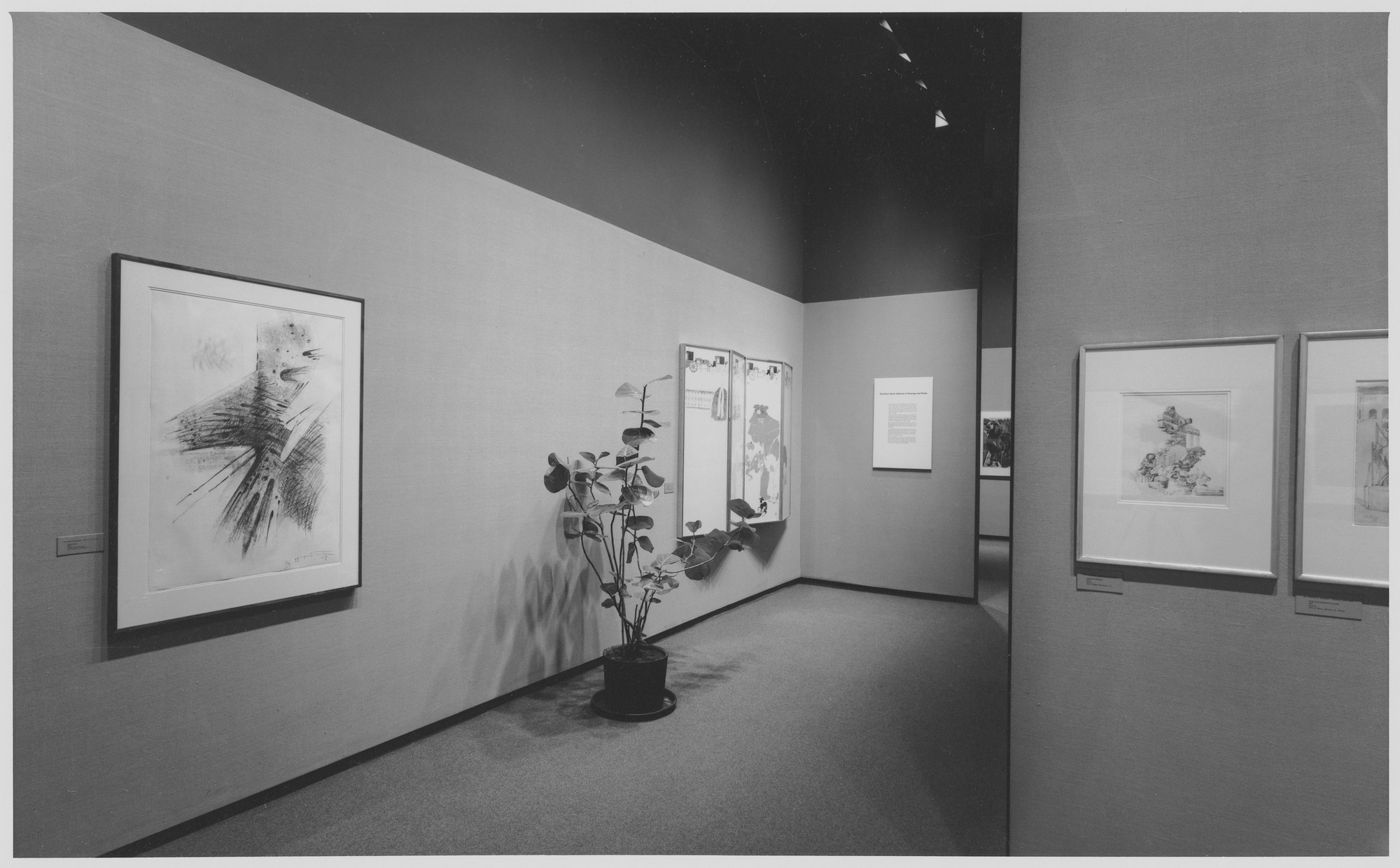 "Installation view of the exhibition, ""Paul J. Sachs Gallery Print Re-installation."" March 3, 1966 [unknown closing date]. Photographic Archive. The Museum of Modern Art Archives, New York. IN792.1. Photograph by George Cserna."