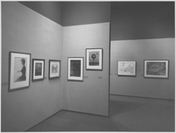 Paul J. Sachs Gallery Print Re-Installation. Mar 3, 1966.