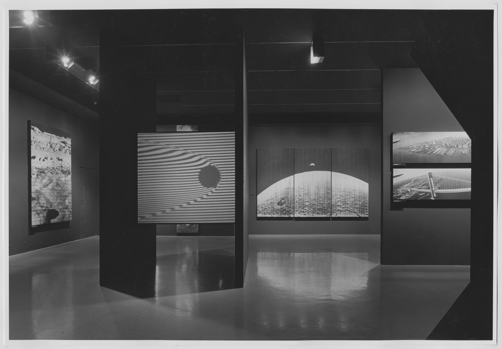 "Installation view of the exhibition, ""Once Invisible."" June 20, 1967–September 11, 1967. Photographic Archive. The Museum of Modern Art Archives, New York. IN833.1. Photograph by James Mathews."
