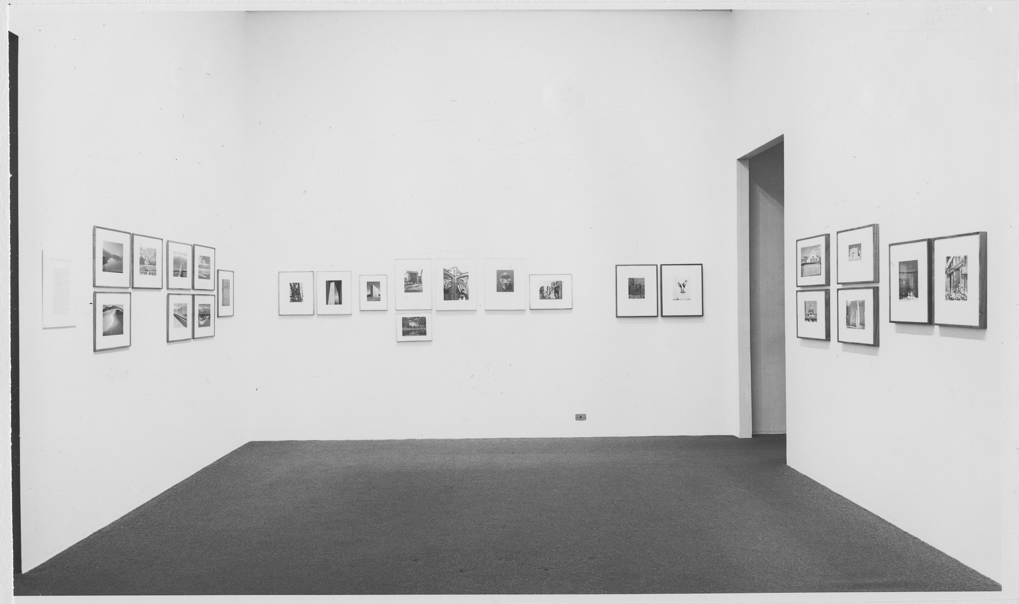 "Installation view of the exhibition, ""From the McAlpin Collection."" December 14, 1966–February 12, 1967. Photographic Archive. The Museum of Modern Art Archives, New York. IN814.1. Photograph by Rolf Petersen."
