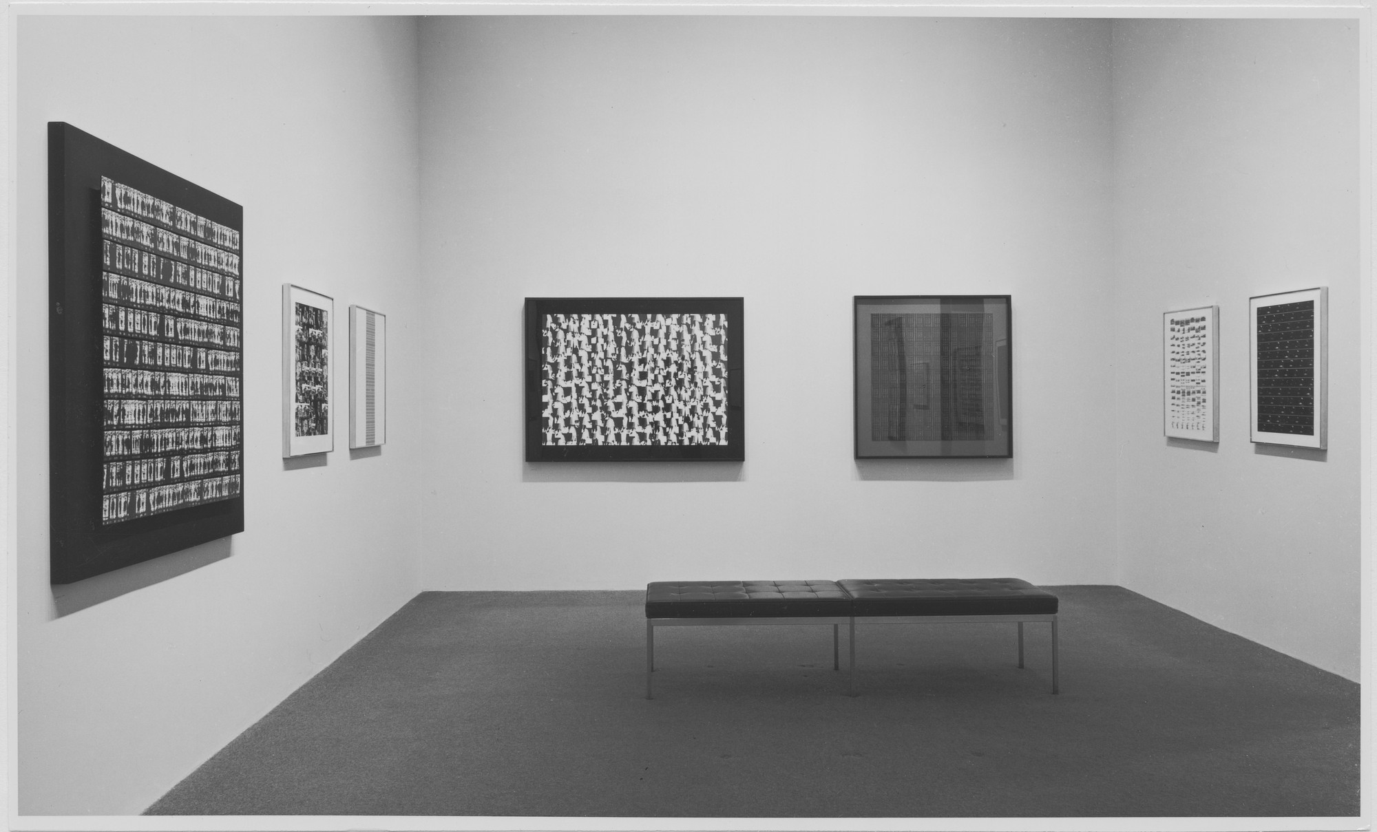 "Installation view of the exhibition, ""Ray K. Metzker"" October 25, 1967–January 31, 1968. Photographic Archive. The Museum of Modern Art Archives, New York. IN844.1. Photograph by James Mathews."