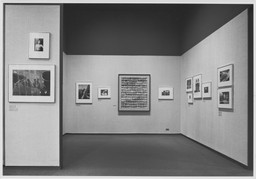 Steichen Gallery Reinstallation. Oct 25, 1967. 1 other work identified