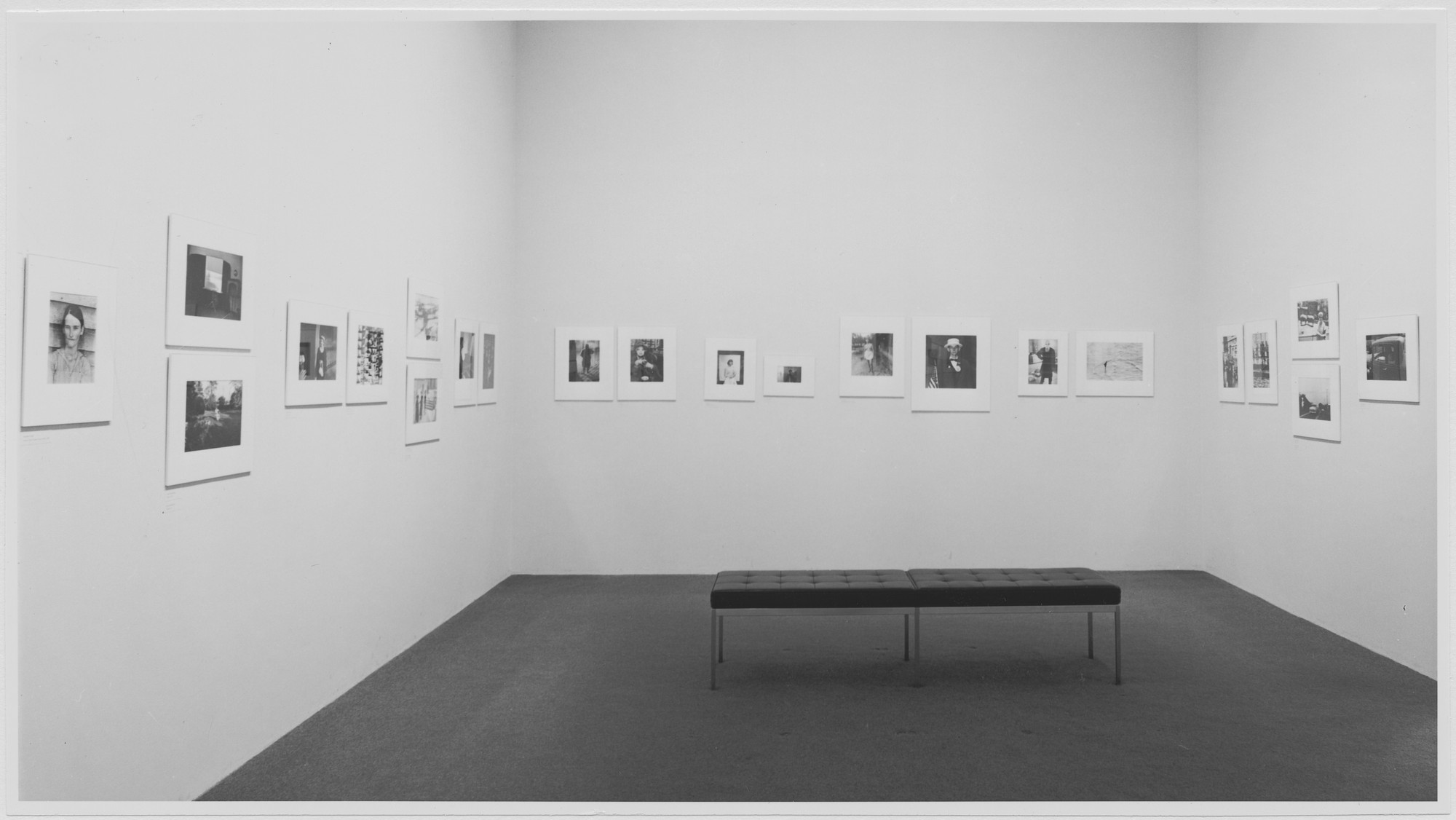 "Installation view of the exhibition, ""Ben Schultz Memorial Exhibition."" February 9, 1968–March 31, 1968. Photographic Archive. The Museum of Modern Art Archives, New York. IN851.1"