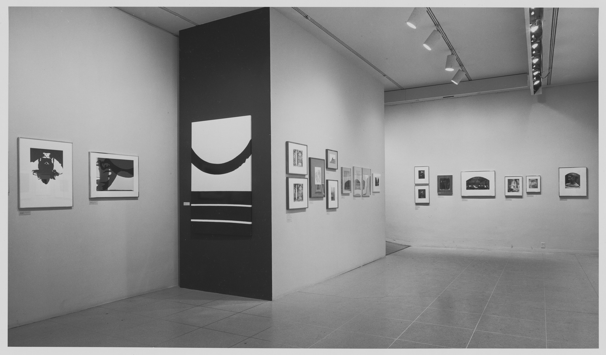 "Installation view of the exhibition, ""Photography as Printmaking."" March 19, 1968–May 27, 1968. Photographic Archive. The Museum of Modern Art Archives, New York. IN853.1. Photograph by James Mathews."