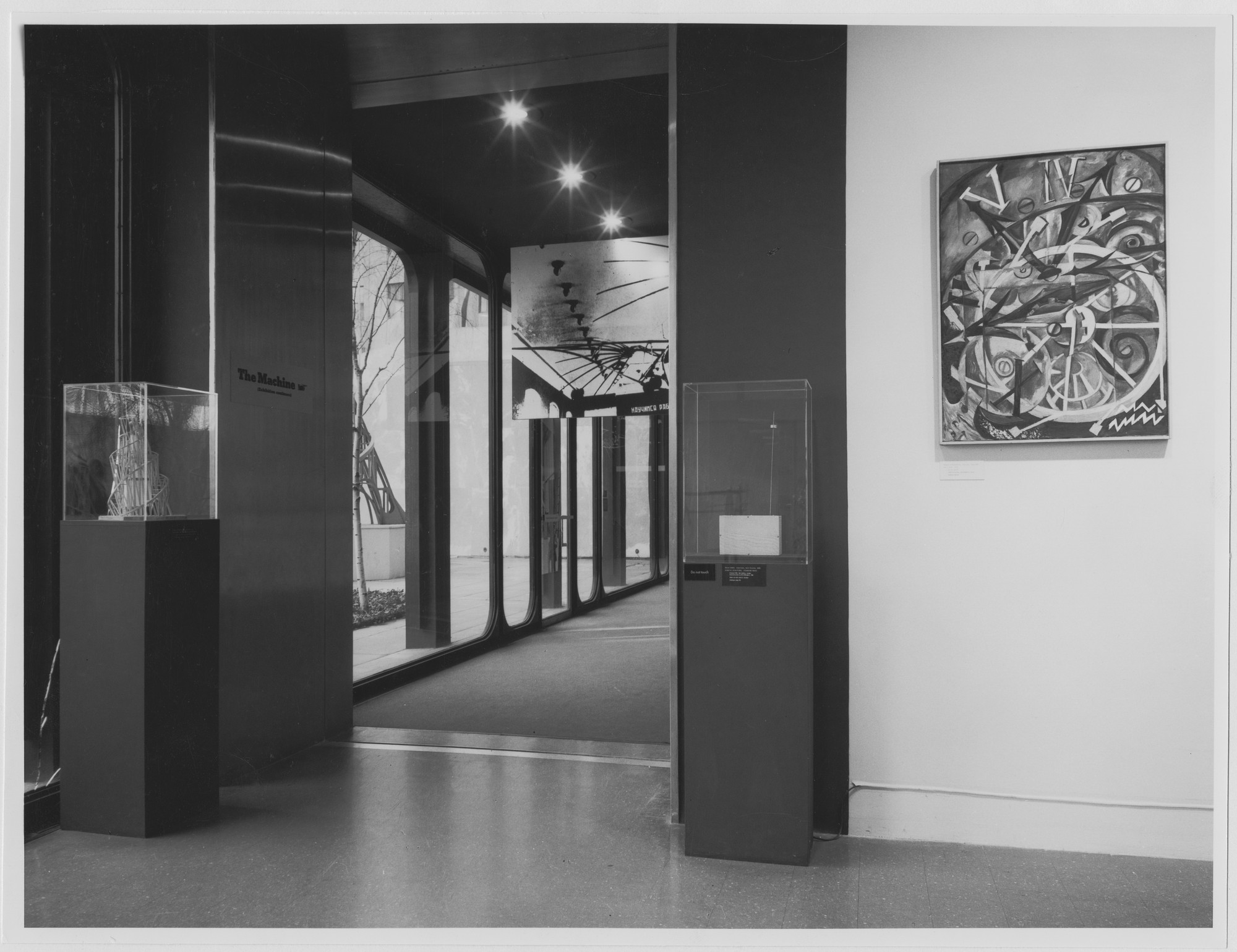 "Installation view of the exhibition, ""The Machine as Seen at the End of the Mechanical Age."" November 27, 1968–February 9, 1969. Photographic Archive. The Museum of Modern Art Archives, New York. IN877.1. Photograph by James Mathews."
