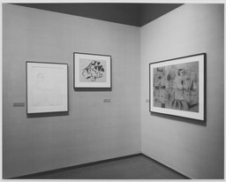 A Selection of Drawings and Watercolors from the Museum Collection. May 11–Oct 19, 1971. 1 other work identified