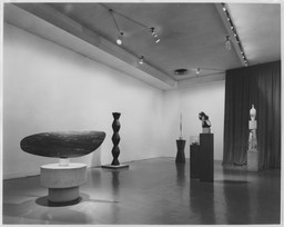 Sculpture by Constantin Brancusi. Jul 7–Aug 15, 1954. 5 other works identified