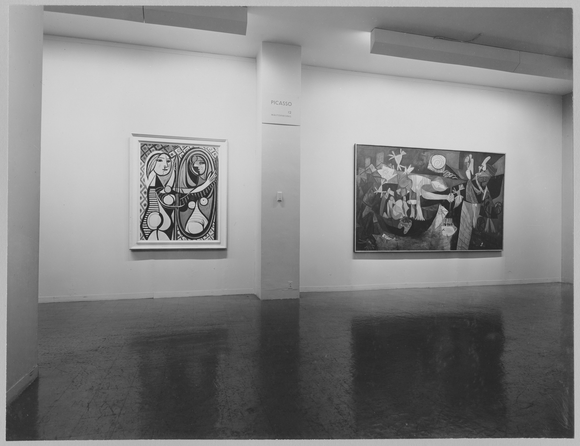 "Installation view of the exhibition, ""Picasso: 12 Masterworks"" March 15, 1955–April 17, 1955. Photographic Archive. The Museum of Modern Art Archives, New York. IN574.1. Photograph by Soichi Sunami."