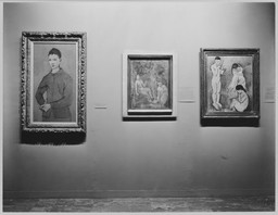Paintings from Private Collections. May 31–Sep 7, 1955.