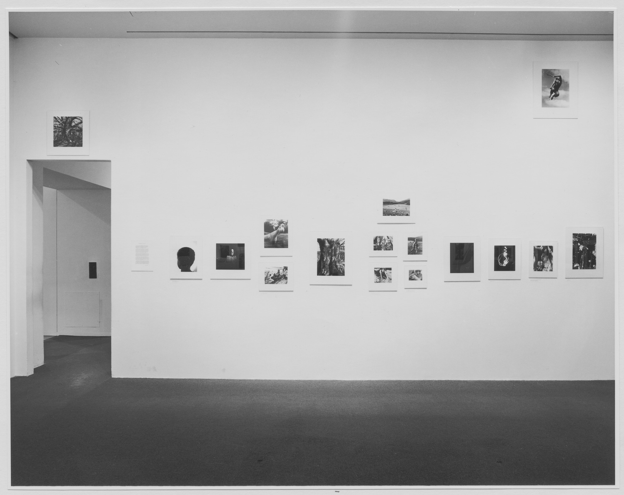 "Installation view of the exhibition, ""Barbara Morgan Photographs."" March 7, 1972–May 30, 1972. Photographic Archive. The Museum of Modern Art Archives, New York. IN999.1. Photograph by James Mathews."