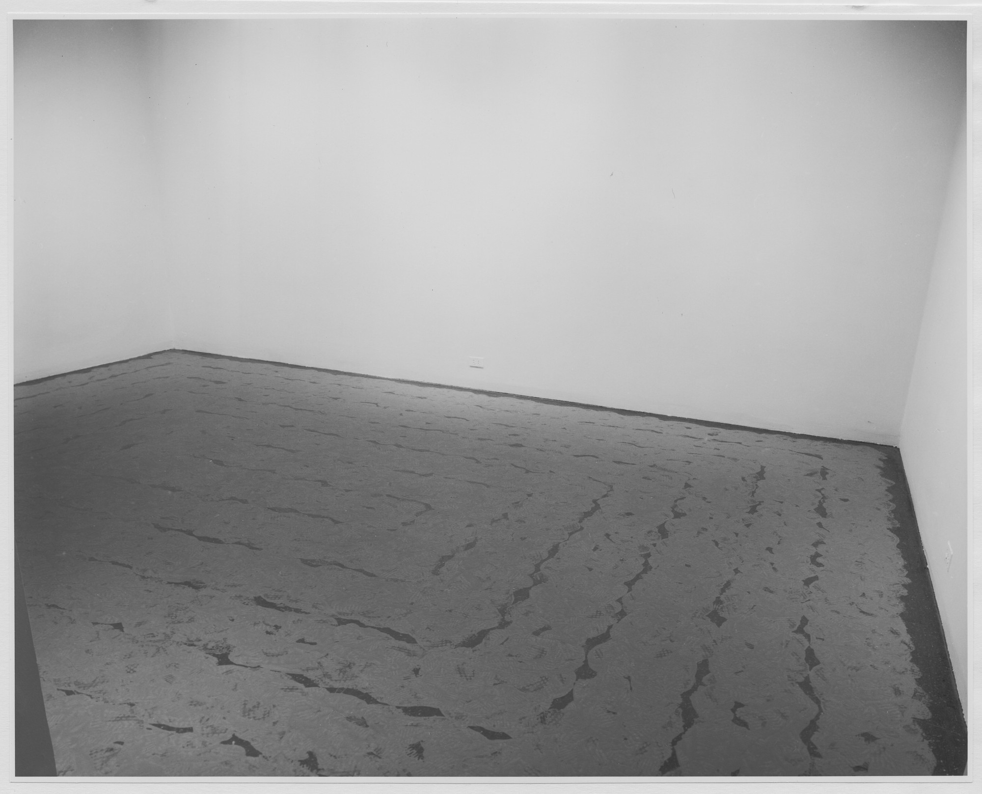 "Installation view of the exhibition, ""Projects: Richard Long."" March 14, 1972–April 17, 1972. Photographic Archive. The Museum of Modern Art Archives, New York. IN1001a.1. Photograph by James Mathews."