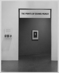 The Prints of Edvard Munch. Feb 13–Apr 29, 1973.