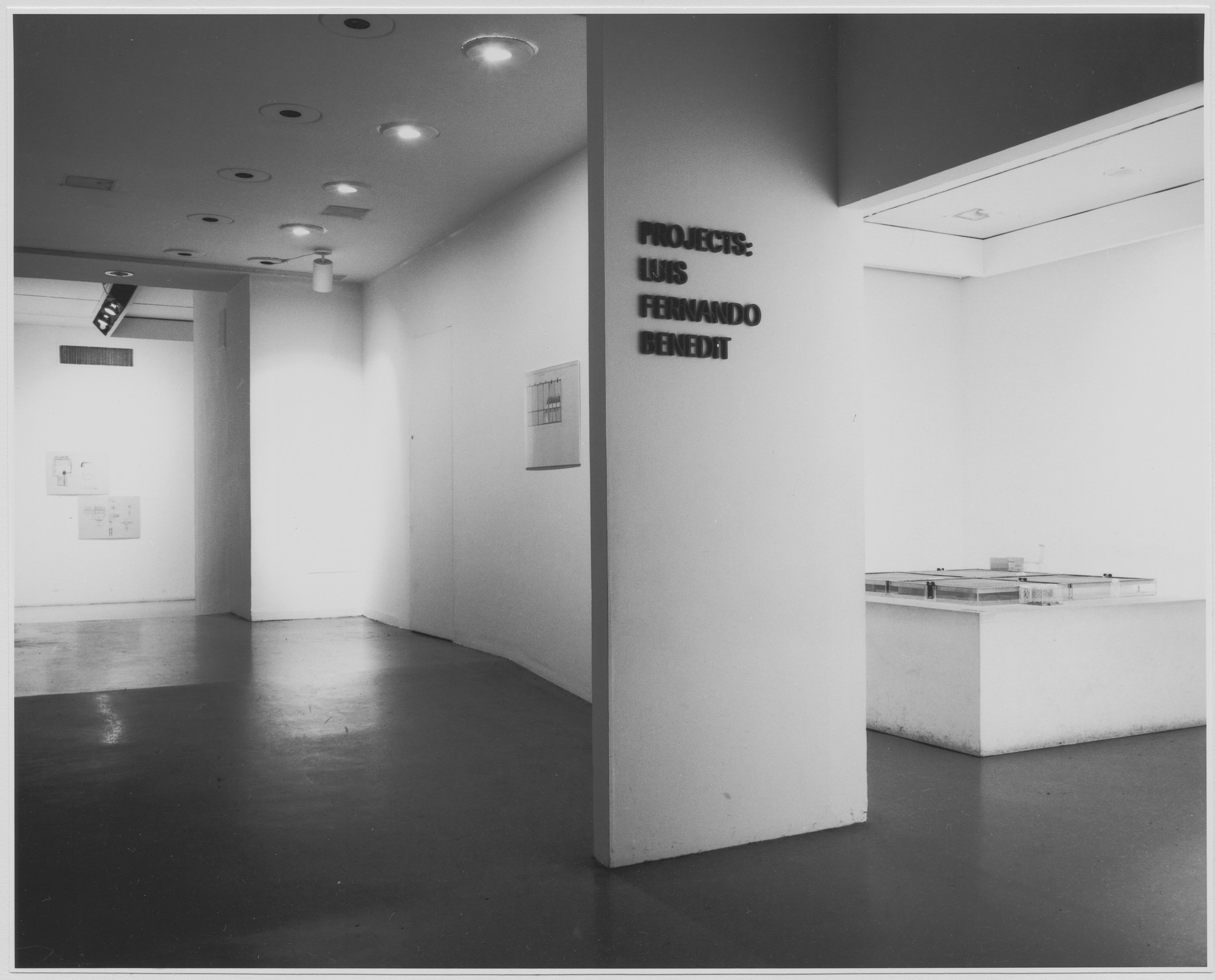 "Installation view of the exhibition, ""Projects: Luis Fernando Benedit November 14, 1972–January 2, 1973. Photographic Archive. The Museum of Modern Art Archives, New York. IN1018a.1. Photograph by Katherine Keller."