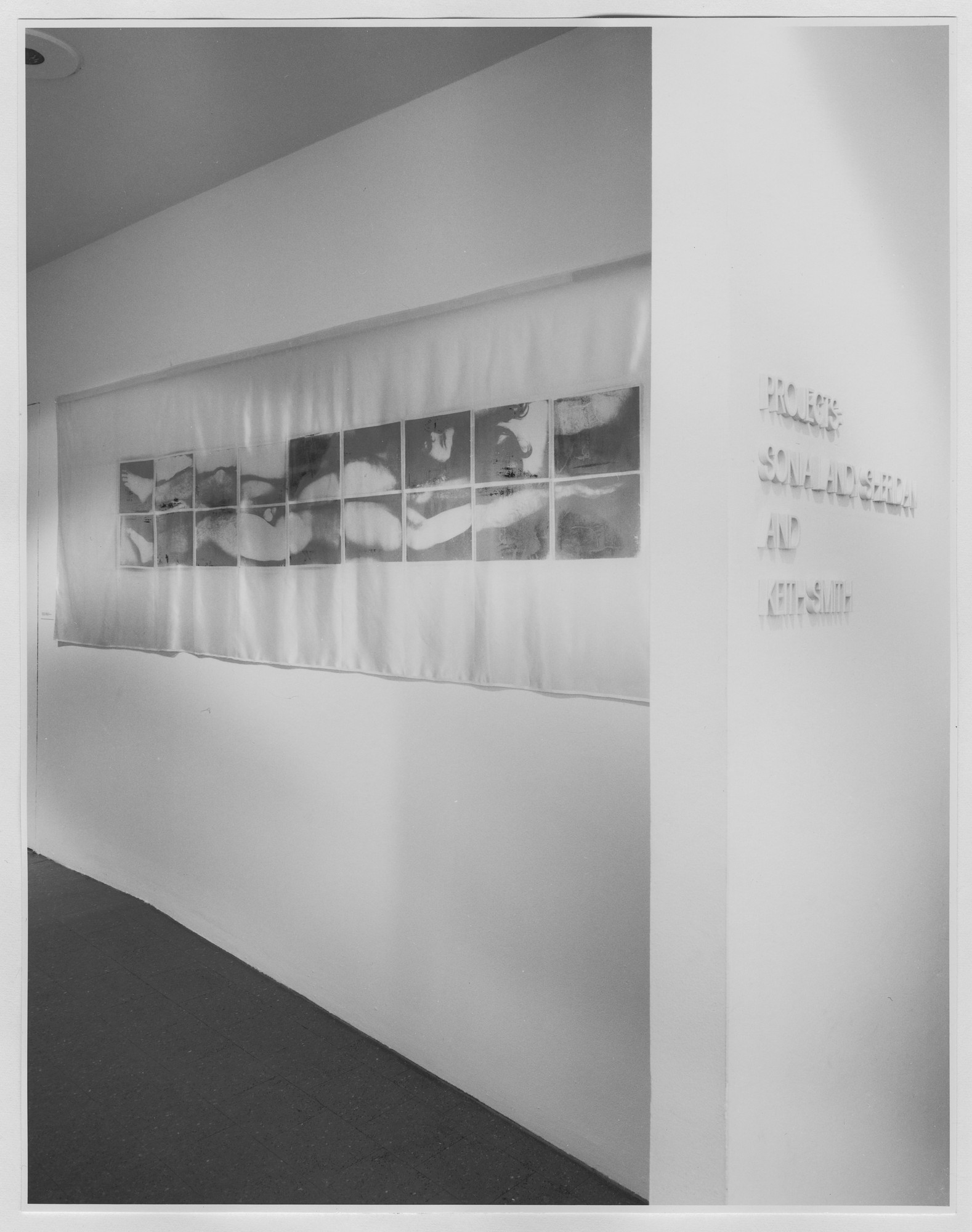 "Installation view of the exhibition, ""Projects: Sonia Landy Sheridan and Keith Smith."" June 4, 1974–July 14, 1974. Photographic Archive. The Museum of Modern Art Archives, New York. IN1063.1. Photograph by Katherine Keller."