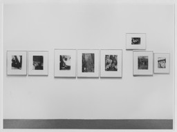 Kertész, Rodchenko, and Moholy-Nagy: Photographs from the Collection. Jan 28–Jun 9, 1974. 3 other works identified