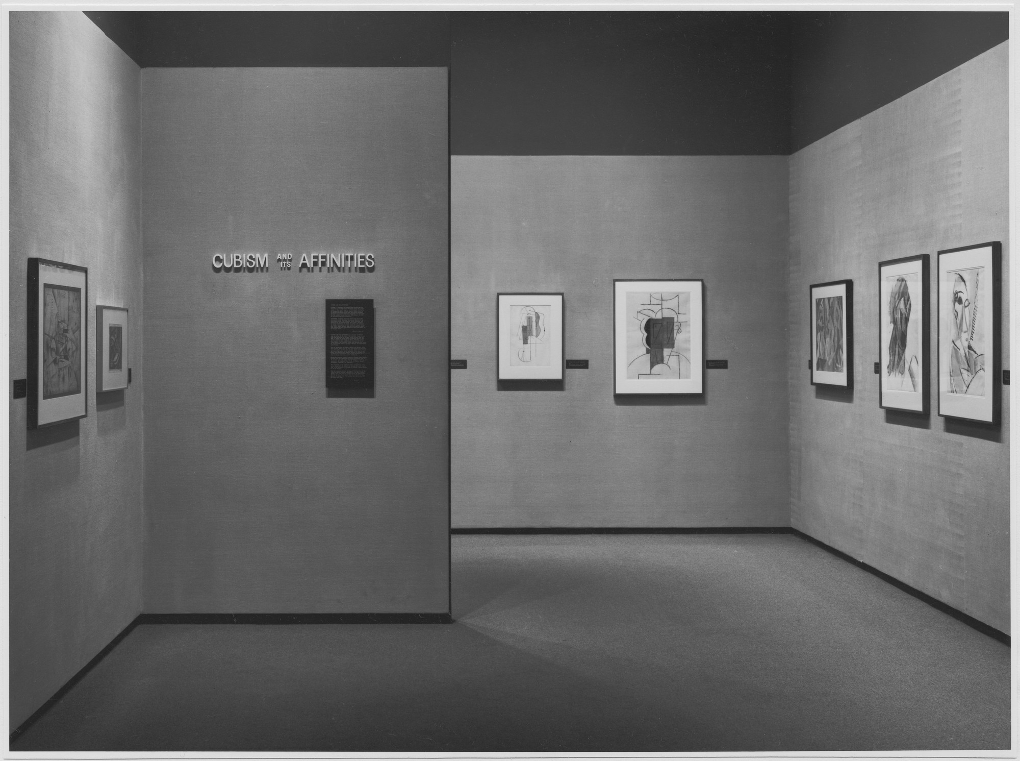 "Installation view of the exhibition, ""Cubism and Its Affinities."" February 9, 1976–May 9, 1976. Photographic Archive. The Museum of Modern Art Archives, New York. IN1119a.1. Photograph by David Allison."