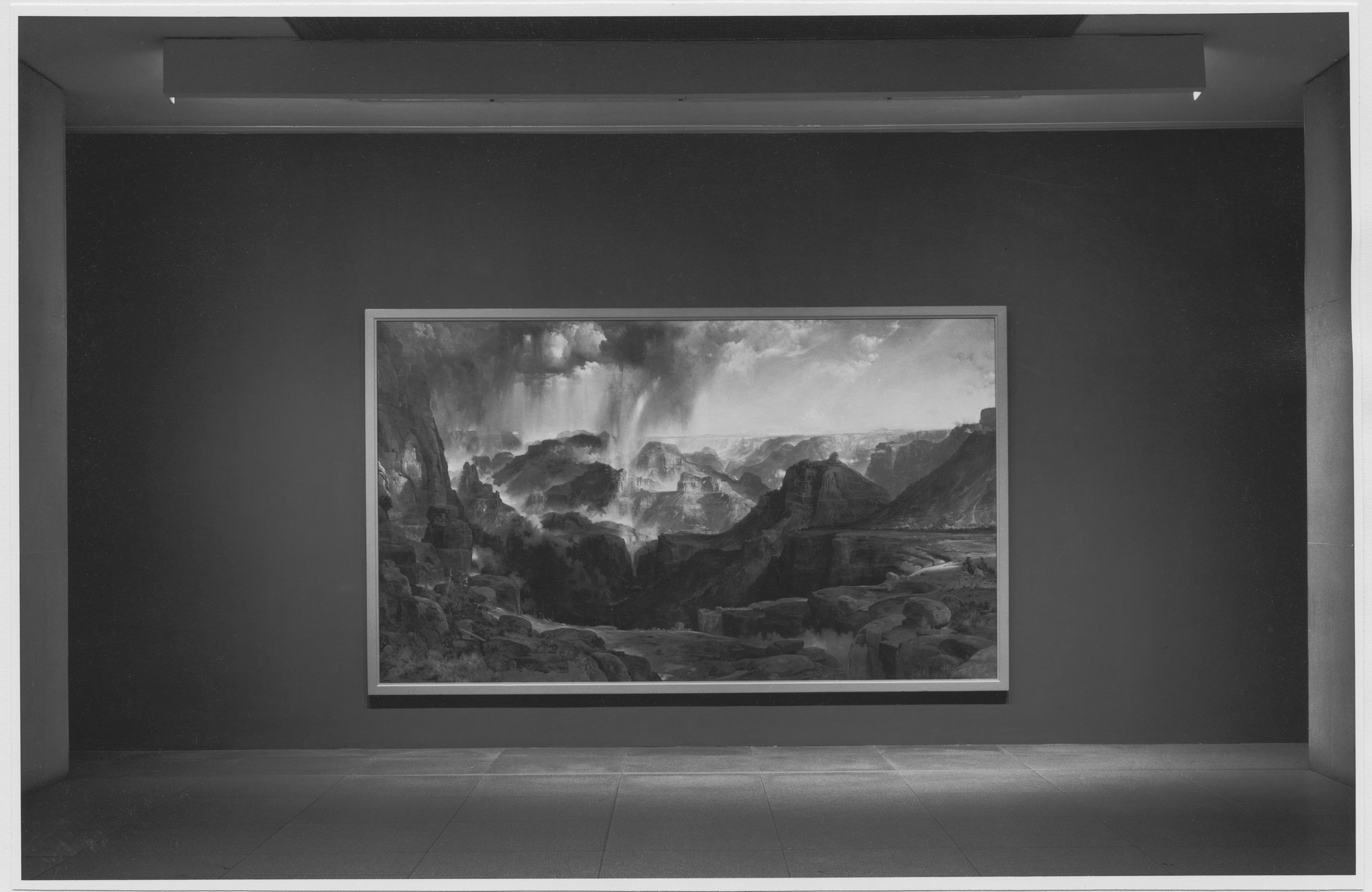"Installation view of the exhibition, ""The Natural Paradise: Painting in America 1800-1950."" September 29, 1976–November 30, 1976. Photographic Archive. The Museum of Modern Art Archives, New York. IN1148.1. Photograph by Katherine Keller."