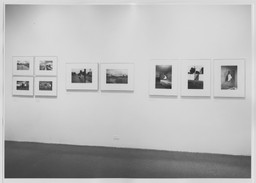 Photographs by William Eggleston. May 24–Aug 1, 1976. 4 other works identified