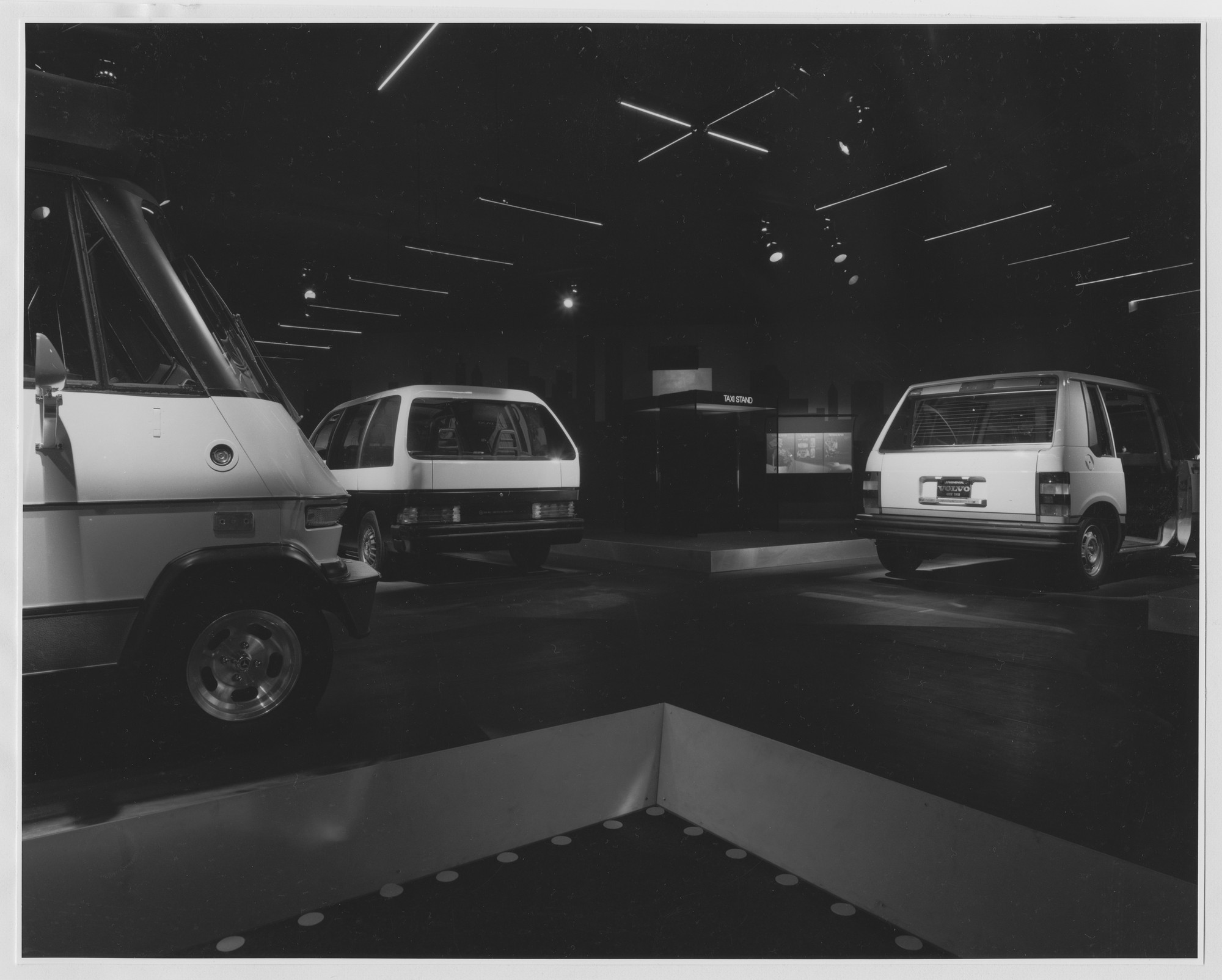 "Installation view of the exhibition, ""The Taxi Project"
