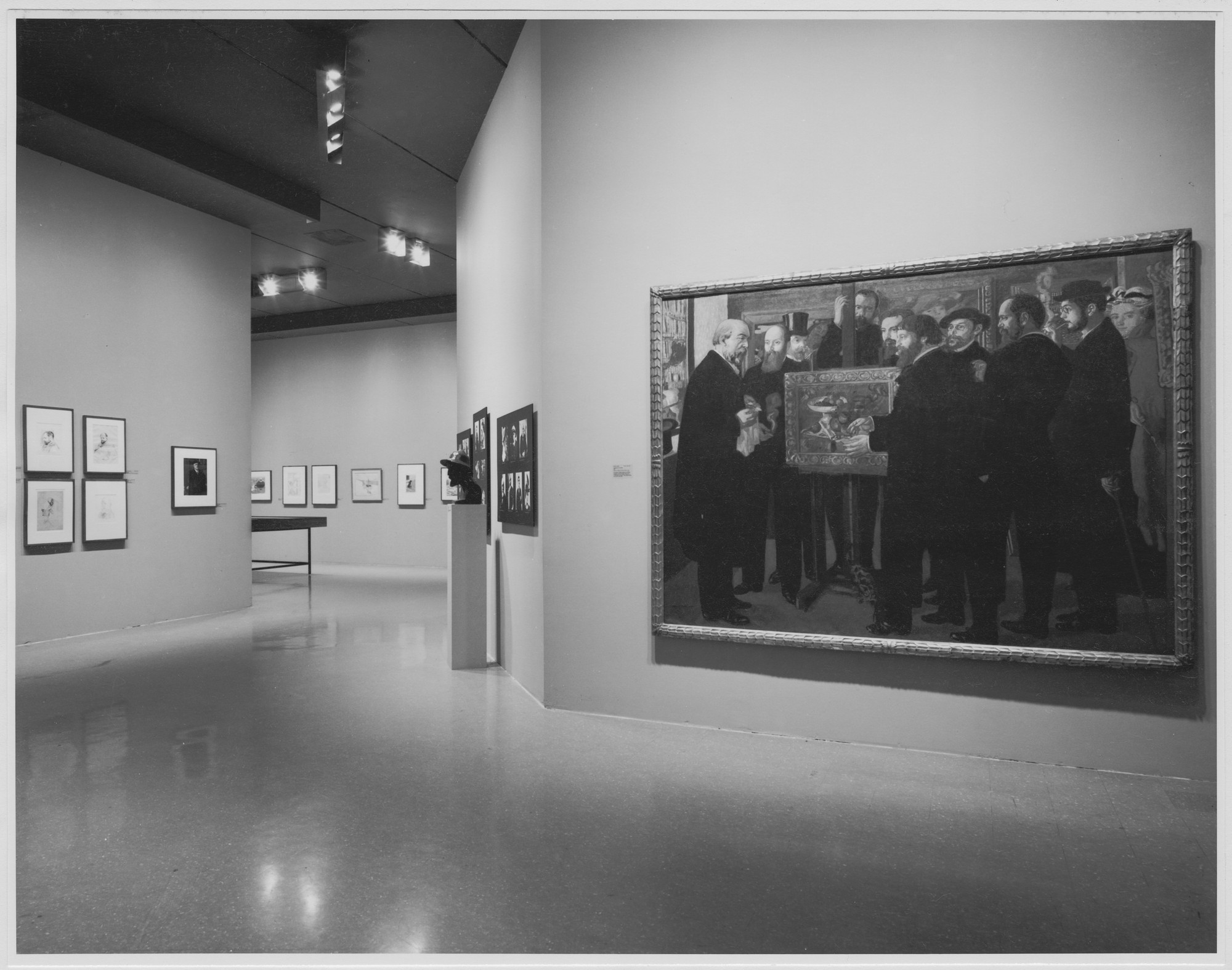 "Installation view of the exhibition, ""Impresario: Ambroise Vollard."" June 6, 1977–September 6, 1977. Photographic Archive. The Museum of Modern Art Archives, New York. IN1175.1. Photograph by David Allison."