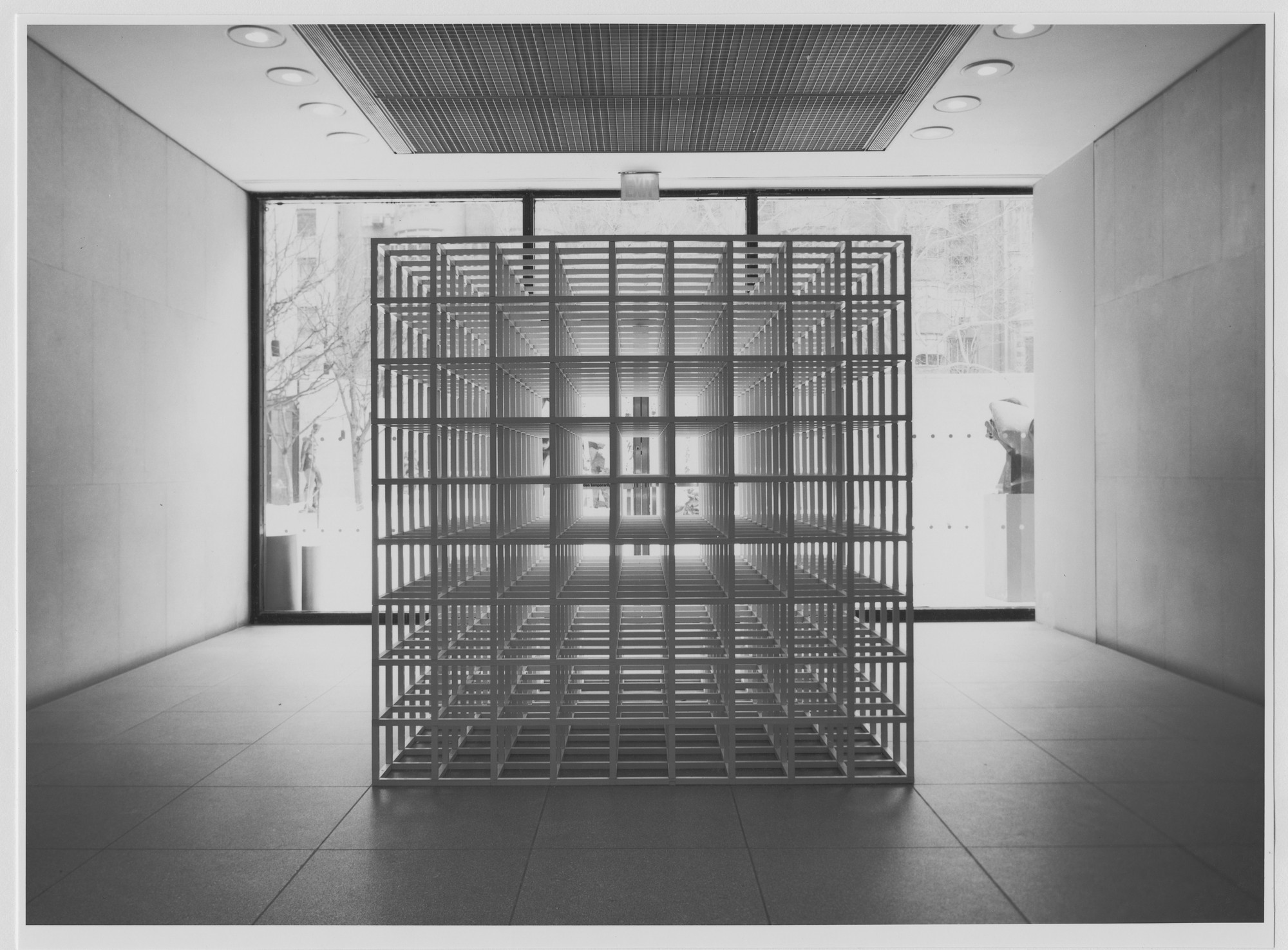"Installation view of the exhibition, ""Sol LeWitt"" February 3, 1978–April 4, 1978. Photographic Archive. The Museum of Modern Art Archives, New York. IN1197.1. Photograph by Katherine Keller."