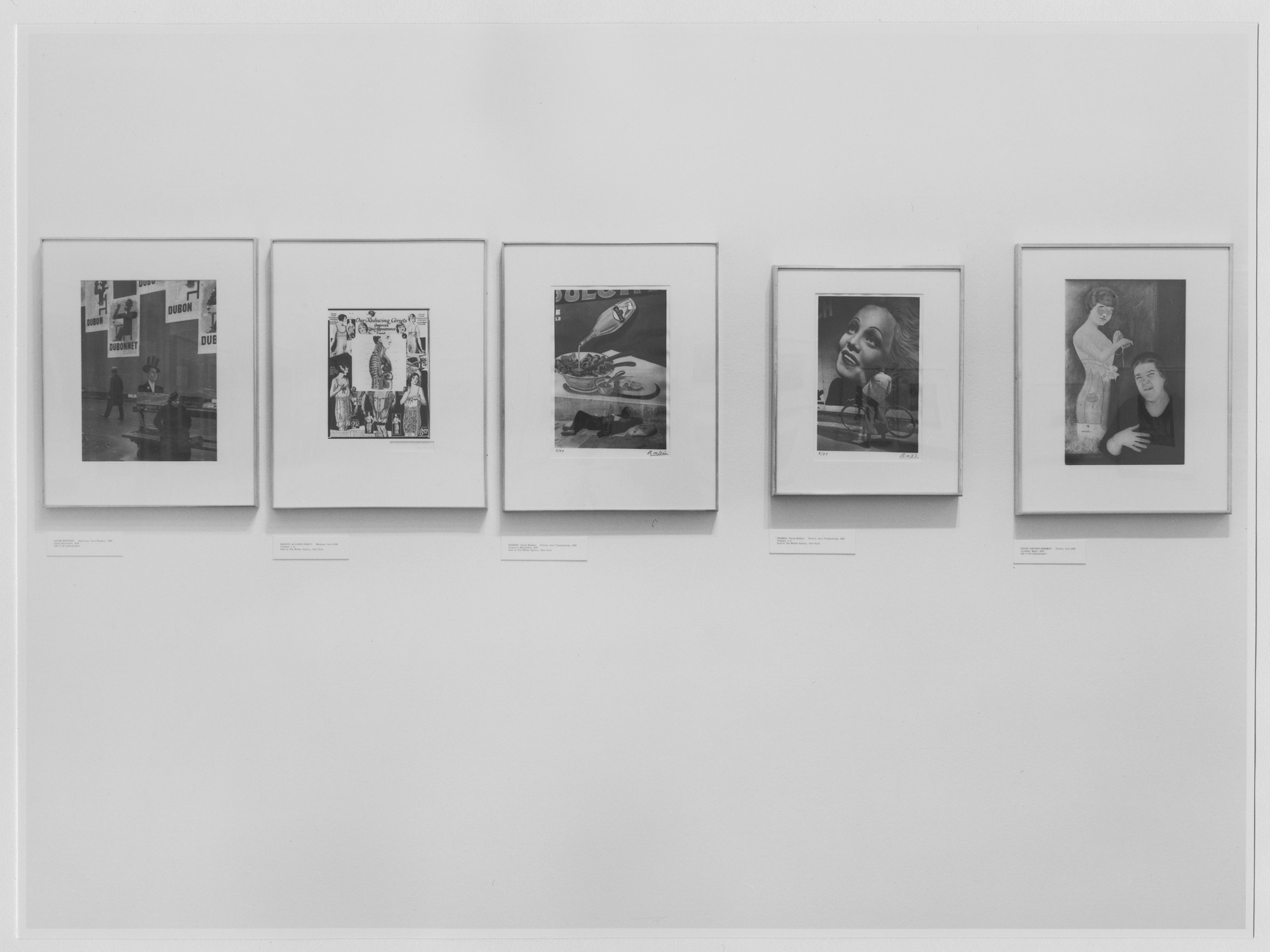"Installation view of the exhibition, ""Public Landscapes:  An Exhibition of Photographs."" September 11, 1974–December 1, 1974. Photographic Archive. The Museum of Modern Art Archives, New York. IN1072.1. Photograph by Katherine Keller."